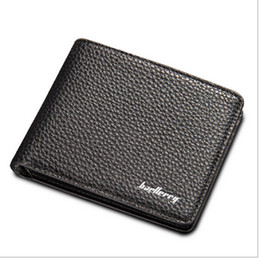 New Style Striped Baellerry Business Wallet Men Short bifold with card Holder Purse Men Famous Brand Mens Wallet