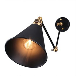 Vintage Edison Style Industrial Pendant Wall Lights Cafe Bar DIY Fixture lamps