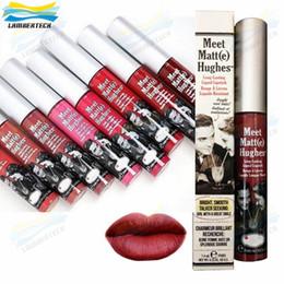 Wholesale 2016 Makeup Lip Blam Meet Matt e Hughes Long Lasting Liquid Lipstick Brand Matte Lipgloss ml DHL