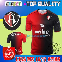 Wholesale New Arrived Merixo Liga MX Club Deportivo Atlas Home Soccer jersey Maillot De Foot ATLETICA MAILLOTE TRIKOT CAMISA shirt