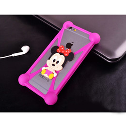 Wholesale accept OEM Lowest Factory price hot sell D cartoon universal silicone D phone case Silicon Case Soft Cover