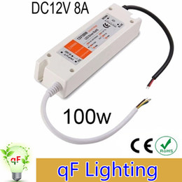 Wholesale LED Power Supply V W LED Driver Power Adapter Switching V to DC V Lighting Transformers for led strip