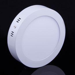 Поверхность панели для продажи-20шт много 6W 12W 18W светодиодные панели установлены светодиодные огни поверхности светильники Простота установки Теплый / Natural / Cool White AC110-240V Накладные