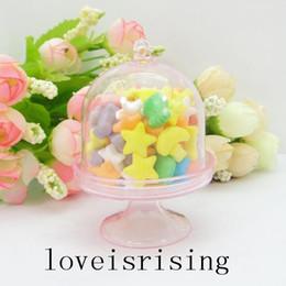 Promotion boîte de petit gâteau de faveur de fête de mariage Nouveautés --- 20pcs / lot Mini rose clair Cupcake Boîtes de mariage de faveur pour Fournitures Lovely Baby Shower Party - Hot Sale