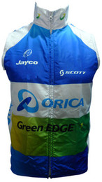 2016 greenedge orica windproof Cycling Vest Cycling Jersey Sleeveless Quick Dry Ropa Ciclismo Summer MTB Bike Cycling Clothing