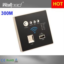 Descuento 3g usb libre Venta al por mayor-300M Tasa Negro WIFI de carga USB 4G 3G WiFi del zócalo, zócalo de pared USB incorporado de envío Wireless AP Router Teléfono carga de la pared libre