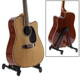 Wholesale Guitar Stand Universal Folding A Frame use for Acoustic Electric Guitars Guitar Holder Bass Ukulele Banjo Violin and Mandolin Guitar holder
