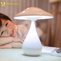 Wholesale Portable Desk Lamp LED Table Light LED Rechargeable Mushroom Lamp Air Purifier Adjustable Night Light