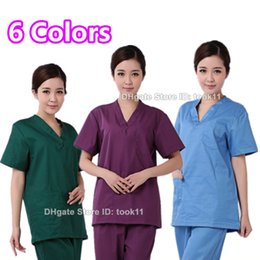 Medical uniforms hospital women medical clothing nursing scrubs clothes dental clinic beauty salon nurse surgical suit medical-clothing