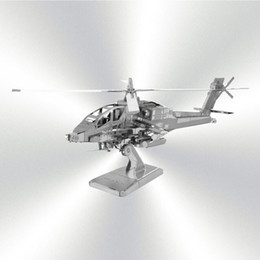 Wholesale Kinds Of D Diy Metal Puzzle Toy Aircraft Model Air Force Equipment Weapons Model For Child adult Christmas Gift Kids Toys