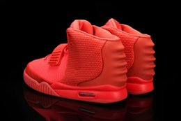 Wholesale 2016 Hot sale west Red October West Trendy shoes sneakers man and woman basketball shoes size eur