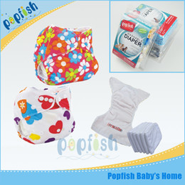 Wholesale Adjustable Baby Infant PUL Waterproof Reusable Nappy Diaper Training Pants Briefs Boy Girl Underwear Washable Cloth Diapers Best Price