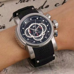 Wholesale aaa IINVICTA Pro Diver Chronograph Black Dial Black Rubber Men s Watch american brand watch