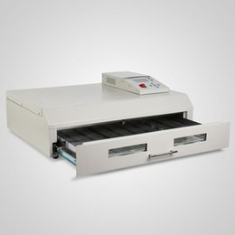 Un four de brasage par refusion en Ligne-T-962C 2500W Infrarouge IC Réchauffeur Reflow Four Machine à souder 400 x 600 mm