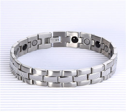 2017 Free Shipping 4 in 1 Bio Health bracelet with germanium magnet infrared Ion energy Health Magnetic Therapy