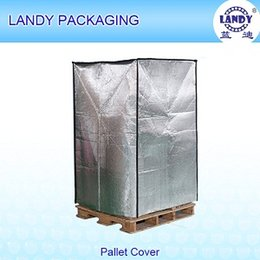 Wholesale Aluminum foil bubble insulation side thermal pallet covers for Air Cargo red wine fresh vegetable
