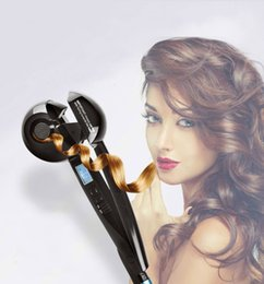 Wholesale Auto Hair Curler With LCD Display Hair Care Styling Tools Ceramic Wave Roller Magic Hair Styling Irons la belleza del cabello