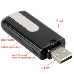 Mini-libre caméra cachée à vendre-Nouvelle caméra espion de vente chaude Mini DVR U8 HD Mini disque USB Spy caméra DVR Motion Détecter Camera Cam Caméra cachée Livraison gratuite