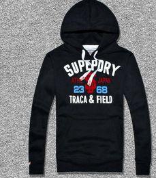 Wholesale 2016 Sales Hiphop Superdry Hoodies Sweatshirts Fashion punk boy streetwear pullover men coat Jackets mix order