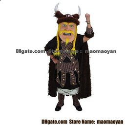 Wholesale Loki the Viking Mascot Costumes Cartoon Character Adult Sz Real Picture
