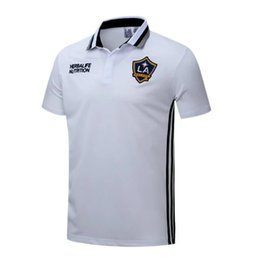 Wholesale 2016 Los Angeles Galaxy polo New Los Angeles Galaxy soccer jersey football shirt POLO