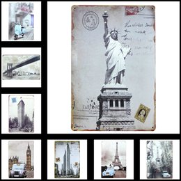 Wholesale Tin Sign Metal Shield Wall Art Decor Decoration Retro Pinup Advertising X30 cm X in