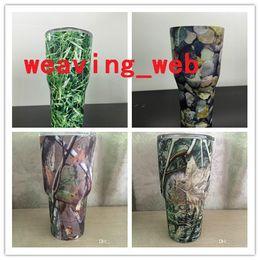 Wholesale IN STOCK camouflage yeti tumbler Yeti Cup Lids PP oz Yeti Mugs Cover Anti overflow Sealing Splashproof Vehicle Tumblers Lids camo yeti