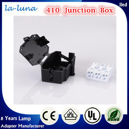 Wholesale Top quality Junction Box with pole Push wire connector Electrical Equipment Material Black or White Color for Choice