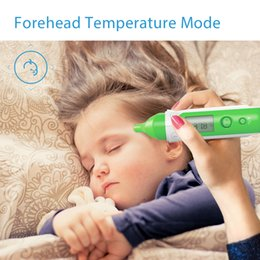 Wholesale Koogeek Smart Thermometer Infrared Sensor Dual Modes Forehead Ear Temperature Non contact Instant Read for Baby Child and Adult KST1