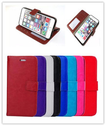 For S7 Edge Wallet PU Leather Case Cover Pouch With Photo Frame for iPhone 5S 6S PLUS Samsung Galaxy S6 EDGE NOTE 5