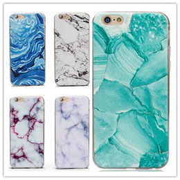 12 Style Ultra-Thin Granite Marble Rock Soft TPU Case Stone Pattern Coloured drawing Back Cover for iphone X 8 7 6 6S plus