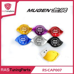 Wholesale MUGEN Radiator Cap Cover Fit For HONDA Accord Civic CR V CR Z CRX City Crossroad Elysion Jazz Prelude S2000