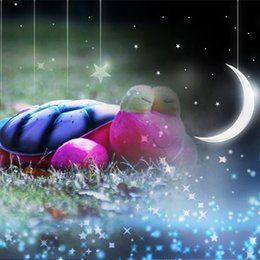 Wholesale Lovely Cute Snail Nights Lights LED Turtle Music Songs for Children Sleep Kids Toys Nights Lights