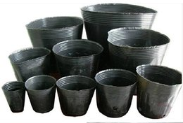 Wholesale 1000pcs Nursery Pots Plant Fiber Nursery Pots Seedling Raising Bags Garden Supplies Environmental Protection Seeds Pot All Size