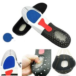 Wholesale New Gel Insoles Corrective Movement Insert Insoles Sport Orthotic Heel Pad Arch Support Shoe Cushion Running