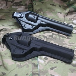 Wholesale 4 Options NEW ASG Dan Wesson Revolver Holster quot quot quot quot Ballistic Nylon Artificial leather Holster Black