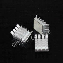 Memoria xbox en venta-200pcs / set de aluminio del disipador de calor para la tarjeta de memoria de PC VGA Xbox 360 PS Vídeo de enfriamiento del refrigerador del fregadero de calor átomo de aluminio