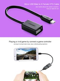 Wholesale Micro USB Male to A Female OTG Cable Adapter For Samsung HUAWEI XIAOMI Android Phone Connect U Disk Keyboard card reader