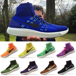Wholesale 2016 Newest LunarEpic FLY KNIT Women Mens Running Shoes Outdoor Sports Shoes Training Athletic Walking Sneakers Size Eur