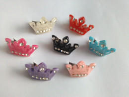 2015 Wholesale Mixed Dog Bows Small Dog Crown Grooming Accessories, Pet Dog Summer Accessories ,Dog Hair Clip 50pcs lot