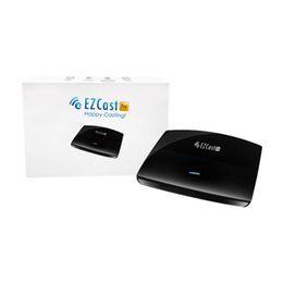 Wholesale EZCast PRO Wireless Presentation LAN High Speed HDMI VGA TV BOX Miracast AirPlay DLNA standards Support Screens Mirror to Screen