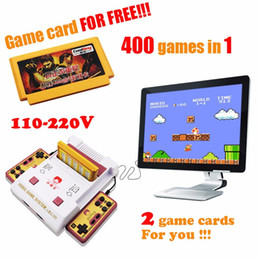 Wholesale Subor D99 Game Machine Nostalgic original video games console player with free games play card original TV game player