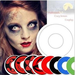 Wholesale Soft Colorful Cosmetic contact lenses for Eyes Colors In Stock Yearly Use Contacts Eye Color