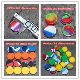 Wholesale Wax Silicone Container Food grade Silicone Nonstick Wax Containers ml ml ml ml Silicone Cases In dry herbal E Cigarettes