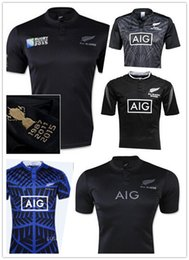 Wholesale 2016 High quality New Zealand rugby team naval laboratory S XXL super football clothes pieces of DHL store free mail