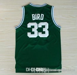 Wholesale 33 Larry Bird Indiana State Sycamores retro throwback White Yellow Blue Orange Jersey Size extra small S