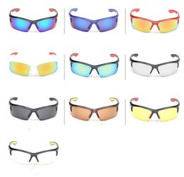 Wholesale Men Sports Polarized Sunglasses Cool Sunglass Color Film Dedicated Cycling Bicycle Glasses Manufacturers DHL lf