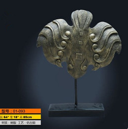 Wholesale ancient chinese Sculpture large bronze sculpture biomorphic sculpture hotel villa club decor resin sculpture