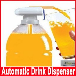 Wholesale New Electric Shot Magic tap Automatic Drink Dispenser Juice Milk Water Beverage Dispenser Party Kitchen Gadget Accessories Tool