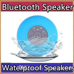 2018 Bluetooth Speaker Waterproof Wireless Shower Handsfree Mic Suction Chuck Speaker Car Speaker Portable mini MP3 Super Bass Call Receive